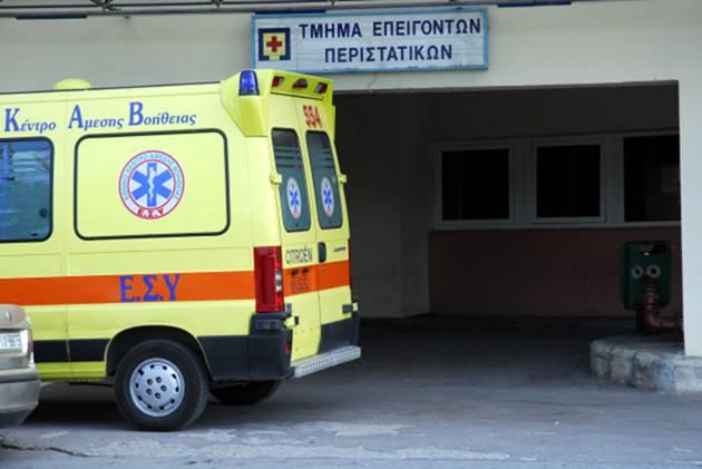 Τρεις τραυματίες το πρωί σε τροχαίο ατύχημα στην Περιφερειακή Οδό Λαρίσης-Τρικάλων
