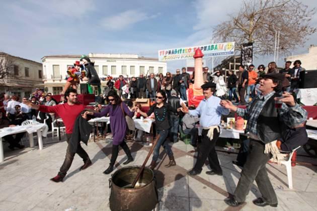 Ξεφαντώστε …στο καρναβάλι του Τυρνάβου