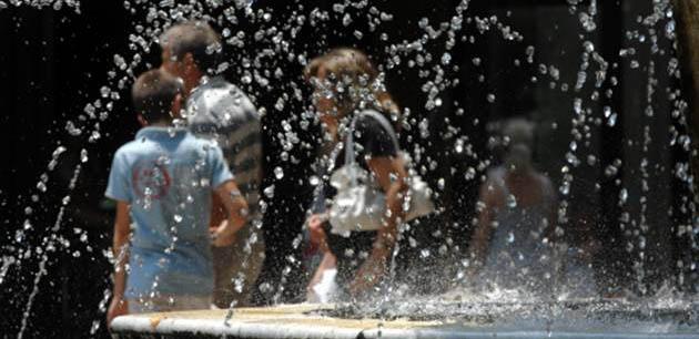 «Πρωταθλήτρια» η Λάρισα: Ξεπέρασε τους 35ο C ο υδράργυρος