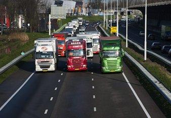 Κανονικά τα φορτηγά και στην ΠΑΘΕ ν. Μαγνησίας