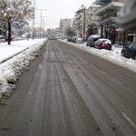 Χιονισμένη Λάρισα