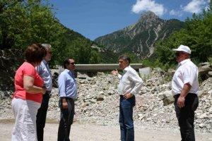 Αποκατάσταση τμημάτων οδικού δικτύου της Αργιθέας