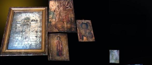 Ιερόσυλος ρήμαζε ναούς και μοναστήρια