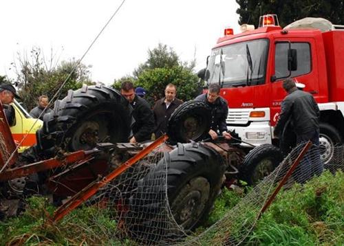 Τραγικός θάνατος 73χρονου αγρότη