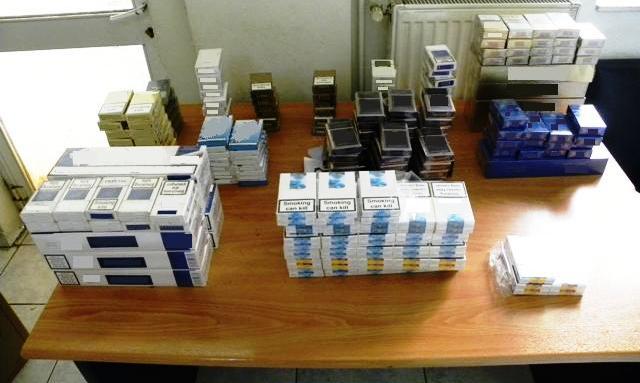 Δύο συλλήψεις για 42 πακετά λαθραίων τσιγάρων