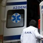 Σε σοβαρή κατάσταση νοσηλεύεται 69χρονος δικυκλιστής στο Βόλο