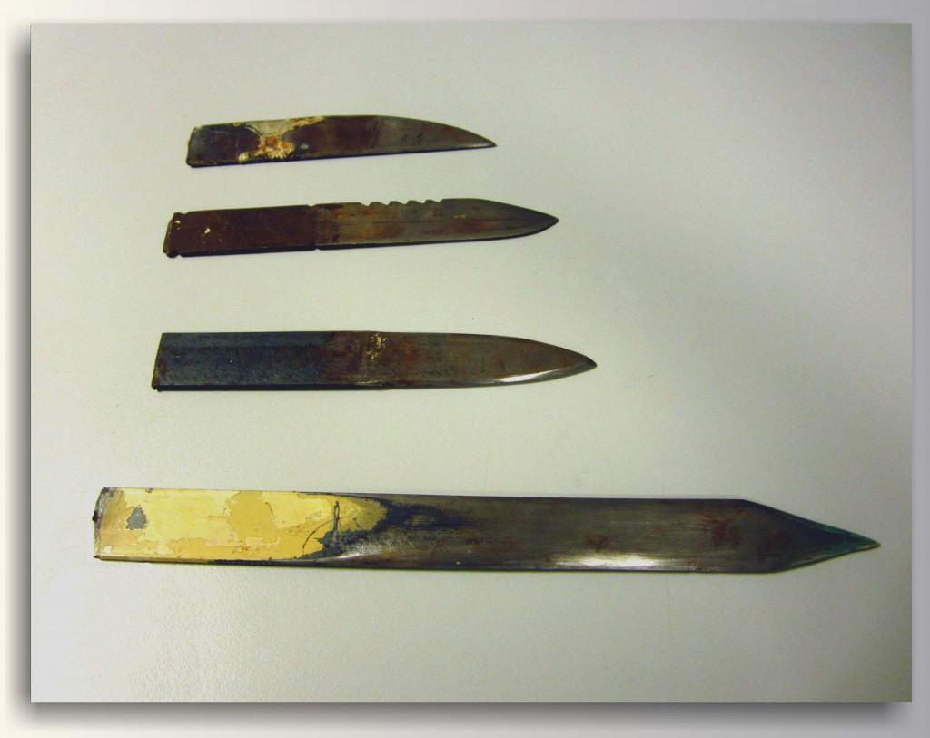 Βόλος: 31χρονος είχε 3 μαχαίρια!