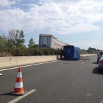 Ατύχημα με νταλίκα στον Περιφερειακό της Θεσσαλονίκης