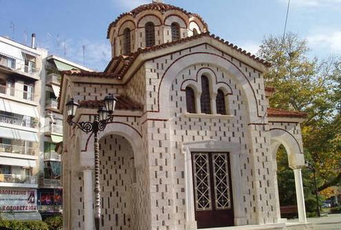 Πανήγυρη αγίου Βησσαρίωνα στο εκκλησάκι του στην Πλατεία Λαού