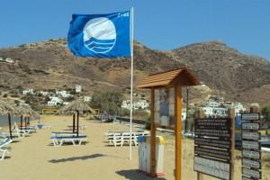 Η Ελλάδα δεύτερη παγκοσμίως σε «Γαλάζιες Σημαίες»