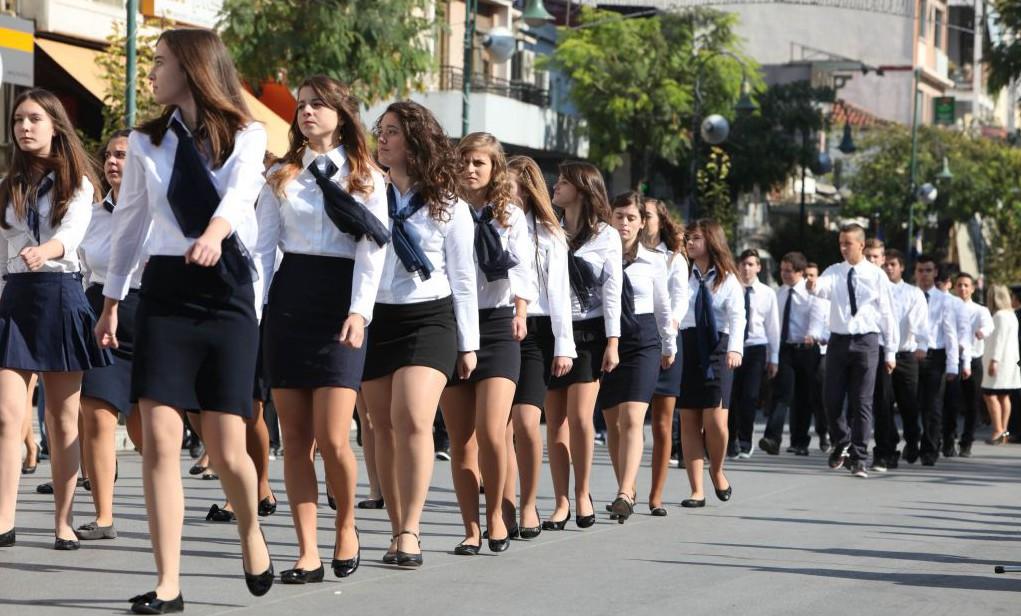 Στις 11.30 π.μ. η παρέλαση στη Λάρισα