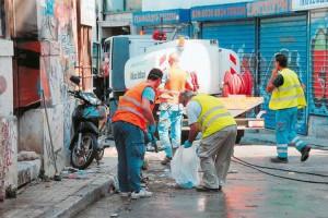 Απεργούν οι εργαζόμενοι στο Δ. Τεμπών – Παράκληση στους πολίτες για τα απορρίμματα