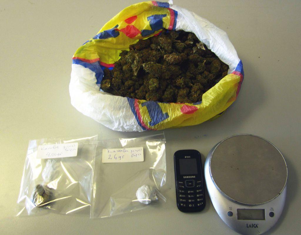 Νέα σύλληψη με 129 κιλά κάνναβης
