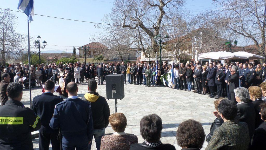 Εκδηλώσεις μνήμης στην Τσαριτσάνη