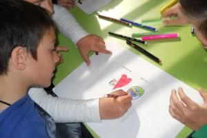 Λαρισαίοι μαθητές ζωγραφίζουν για το Περιβάλλον