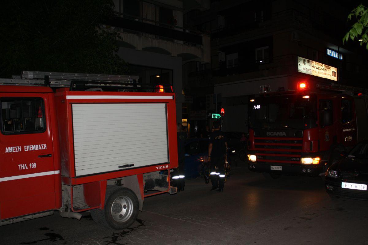 Λάρισα: Φωτιά σε κουζίνα σπιτιού τα ξημερώματα