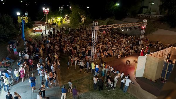 Το Φεστιβάλ Πηνειού αρχίζει…