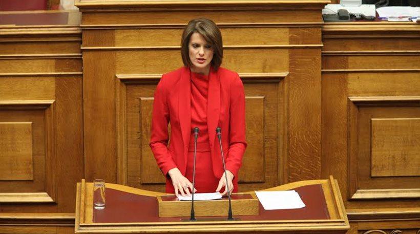 Φεύγει από το Ποτάμι η βουλευτής Κατερίνα Μάρκου