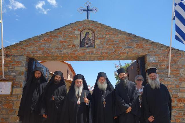 Πλήθος πιστών στον Πυργετό για τον Αγιο Νικόδημο