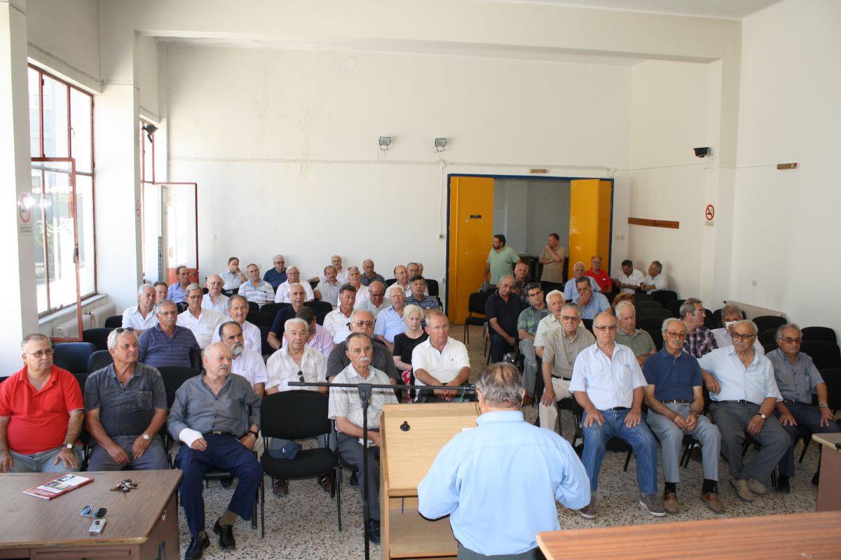 Πανθεσσαλική σύσκεψη συνταξιούχων