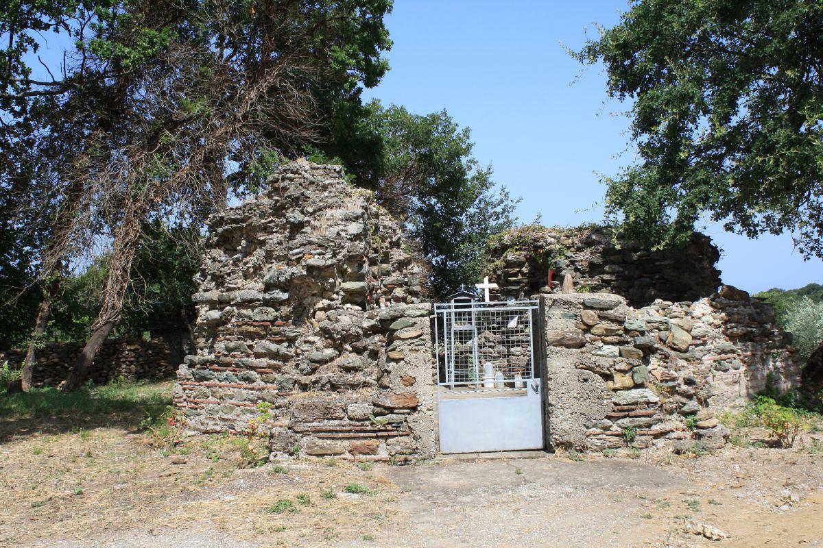 Βυζαντινός Ναός στην Πλατιά Άμμο