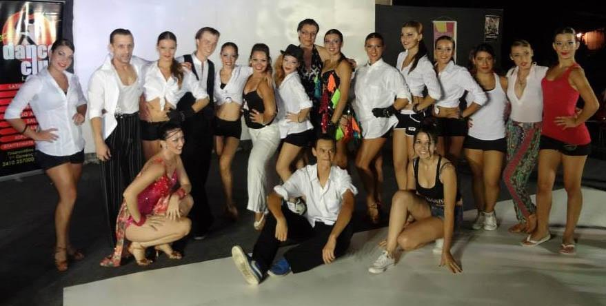 Παράσταση χορού στα Μεσάγκαλα