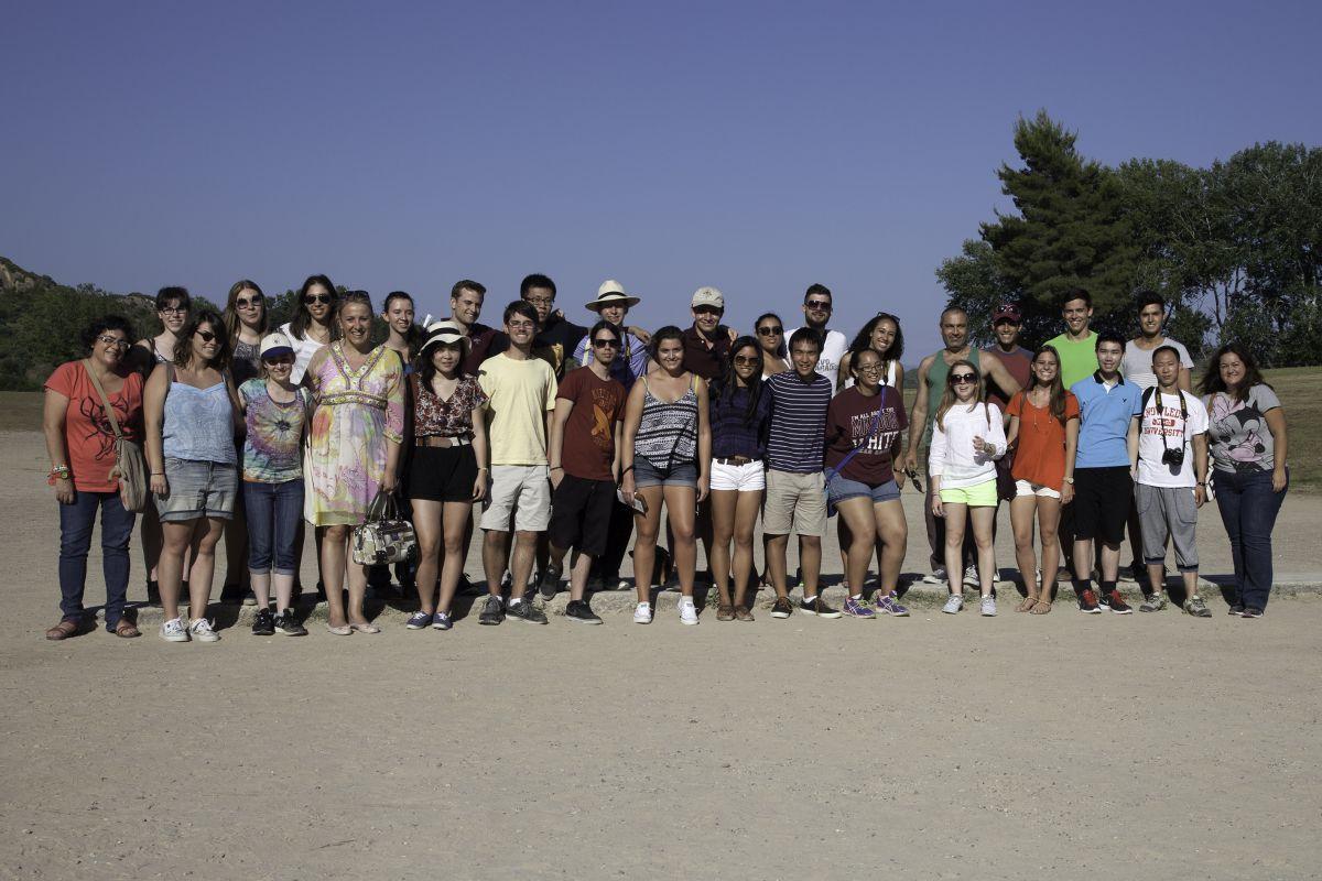 Θερινό Σχολείο του Χάρβαρντ στην Αρχαία Ολυμπία