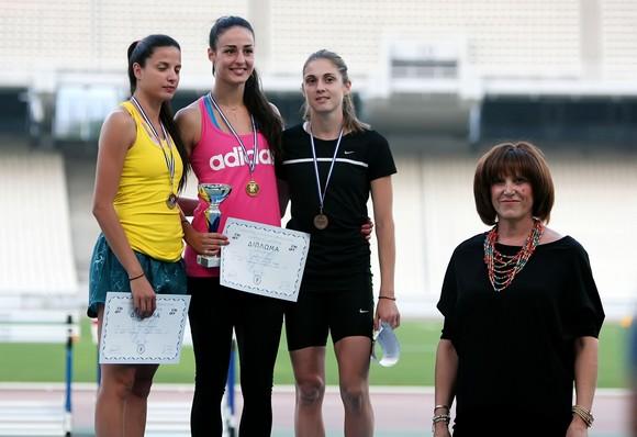 Πρωταθλήτρια Ελλάδας η Λίλη Αλεξούλη