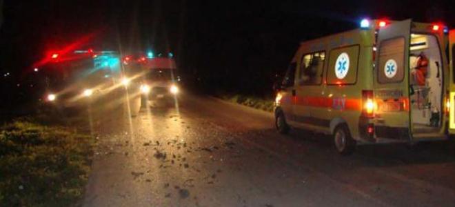 Ακρωτηριάστηκε άνδρας σε τροχαίο στη Λάρισα