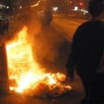 Φωτιά σε 16 (!) κάδους απορριμμάτων στα Φάρσαλα