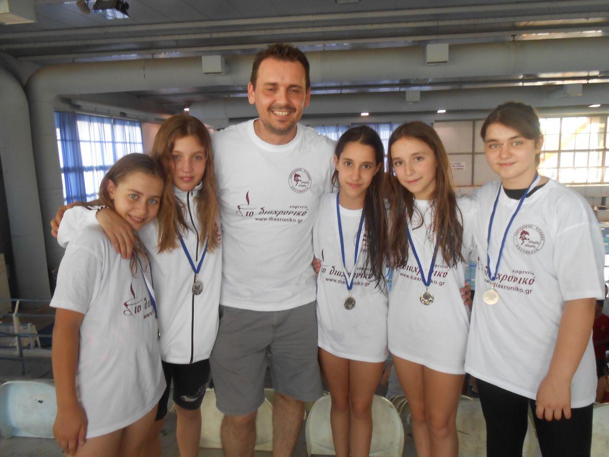 Πανελλήνιες διακρίσεις αθλητών του Συλλόγου «Λαρισαϊκός Τιτάνες»