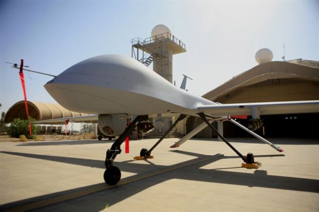 «Όχι στη νέα βάση drones στη Λάρισα»