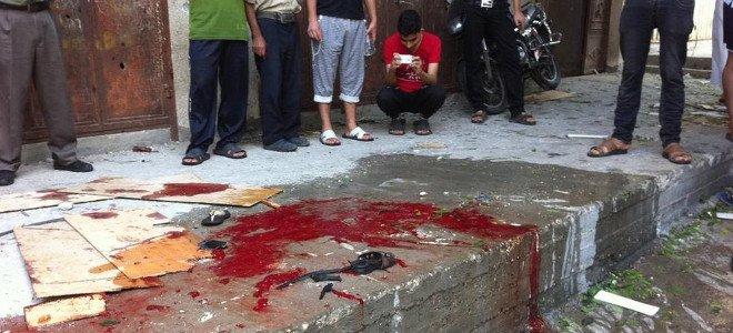 Ρέει το αίμα στη Γάζα