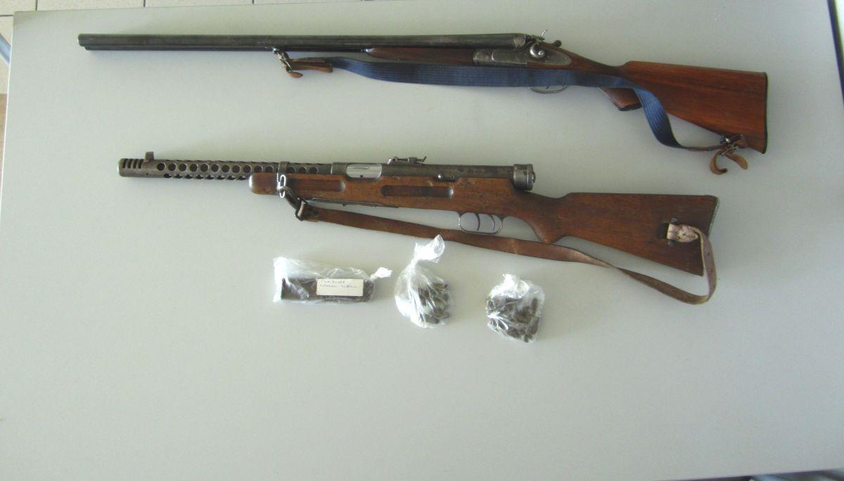 Ναρκωτικά και όπλα στη Λάρισα