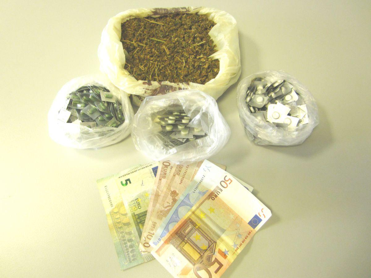 «Αποθήκη» με ναρκωτικά στο σπίτι Λαρισαίου