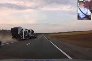 Απίστευτη καταδιώξη οδηγού στη Ρωσία (video)