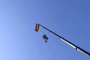 Βungee jumping με μονοθέσιο F1! (video)