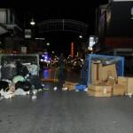 Γέμισε μια πόλη όλο σκουπίδια…
