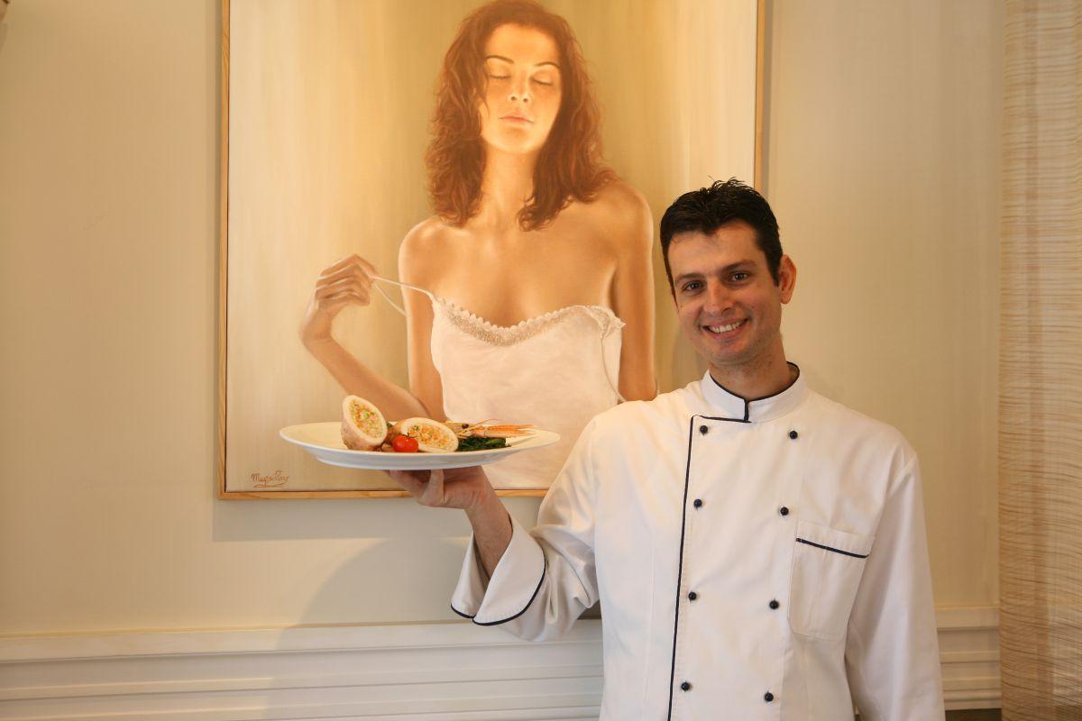Ο σεφ Μανώλης Πανταζής (4)