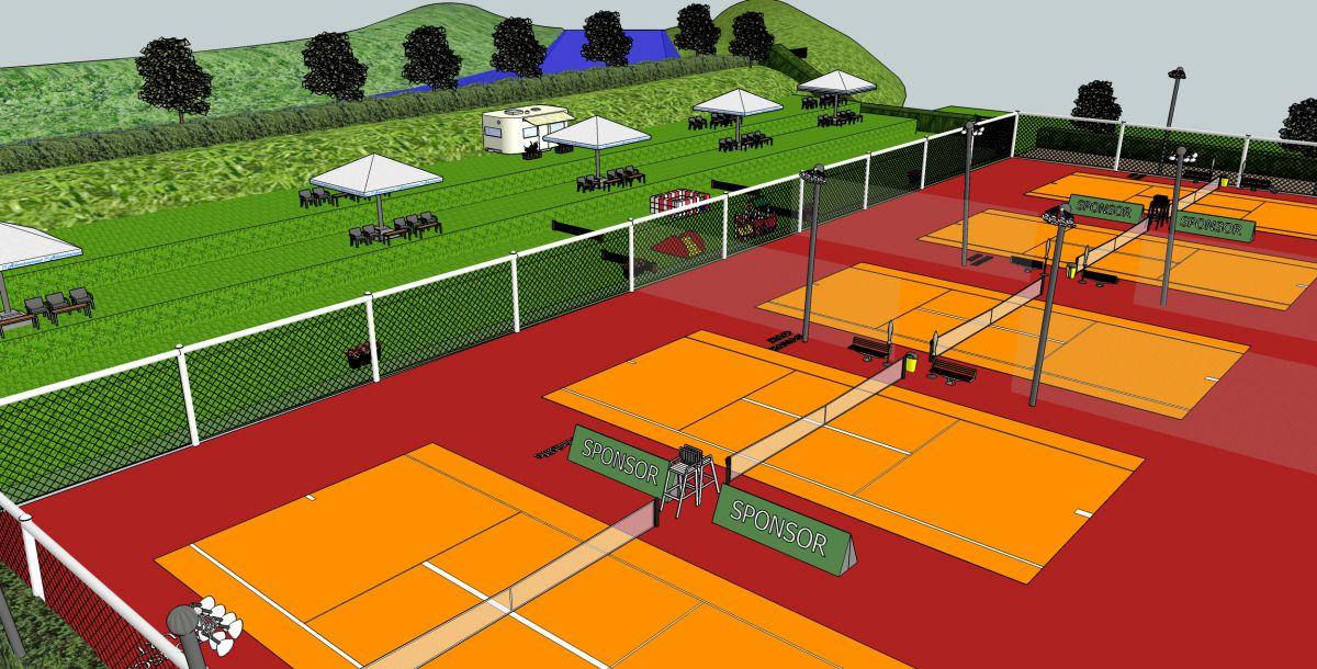 Νέο Tennis Club στη Λάρισα