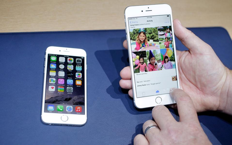Ρεκόρ προπαραγγελιών για τα νέα iPhone
