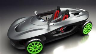 Το πρώτο αυτοκίνητο από κομμάτια 3D εκτυπωτή