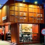 Στη Λάρισα το πρώτο κοντέινερ – καφέ στην Ελλάδα (ΦΩΤΟ)