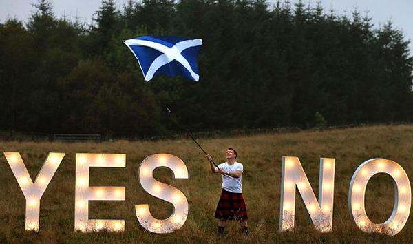 Τι θα συμβεί αν οι Σκωτσέζοι ψηφίσουν «Ναι» (VIDEO)