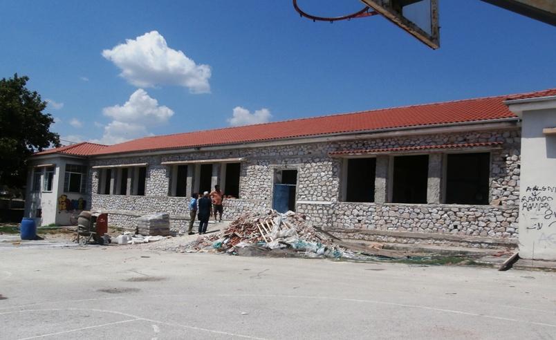 Προχωράει η ανακατασκευή του Νηπιαγωγείου Τερψιθέας
