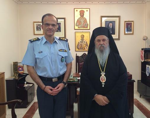Συνάντηση Ιγνατίου με τον Αστυνομικό Διευθυντή Θεσσαλίας