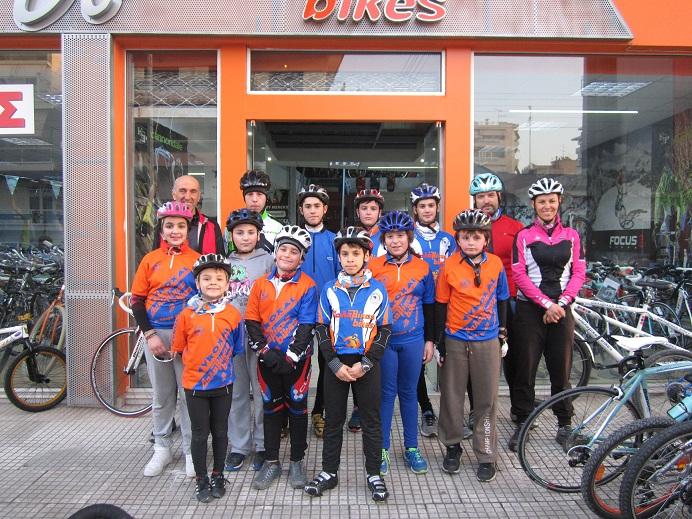 Σχολή Ποδηλασίας στον ΠΑΣ Πηνειός