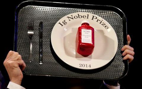 Ποιοι πήραν τα «Νόμπελ του τρελού επιστήμονα»