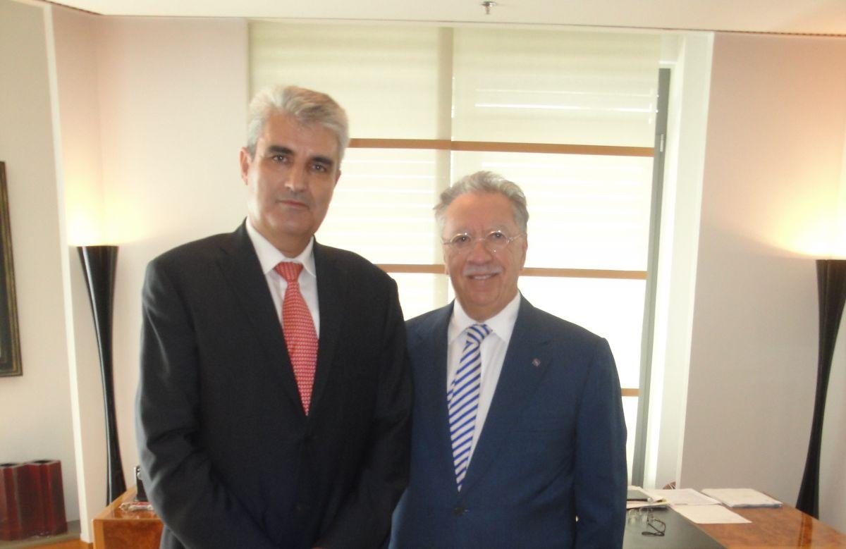 Με τον Μιχ. Σάλλα συναντήθηκε ο Δ. Αδάμ
