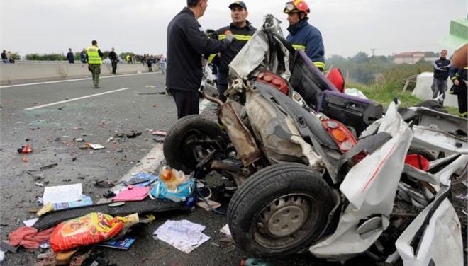 Τρεις νεκροί σε τροχαίο δυστύχημα